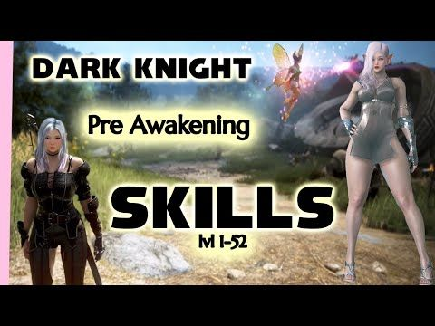 2019 Pre Awakening Skill Guide For Dark Knight 1 52 On Xbox And Pc