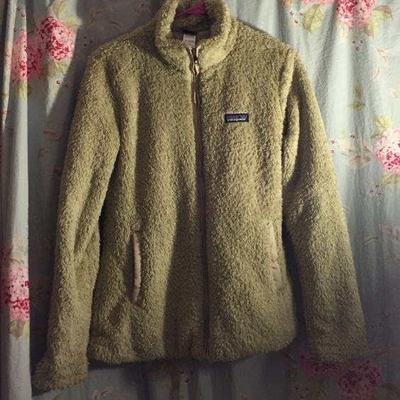 Plush zip fleece Super warm and fuzzy zip up fleece. Great for layering in super cold weather but will definitely keep you warm with just a t-shirt underneath! New condition. Patagonia Jackets & Coats Utility Jackets