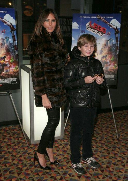 Melania Trump And Young Baron