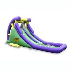 $389.00 (CLICK IMAGE TWICE FOR UPDATED PRICING AND INFO)  Double Inflatable Water Slide.See More Pool Water Slides at http://www.zbuys.com/level.php?node=3988=pool-water-slides