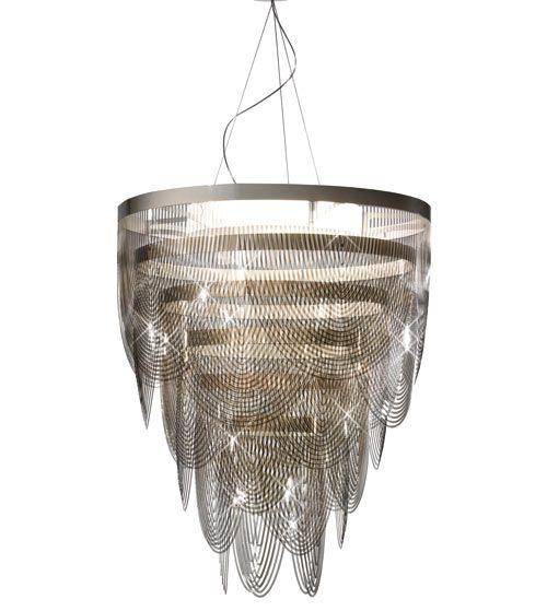 Elegant Chandelier Lighting by SLAMP: Ceremony