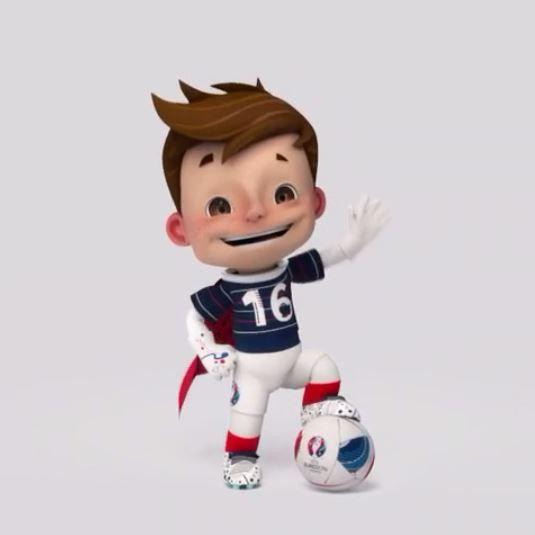 Voici la mascotte officielle de l'Euro 2016