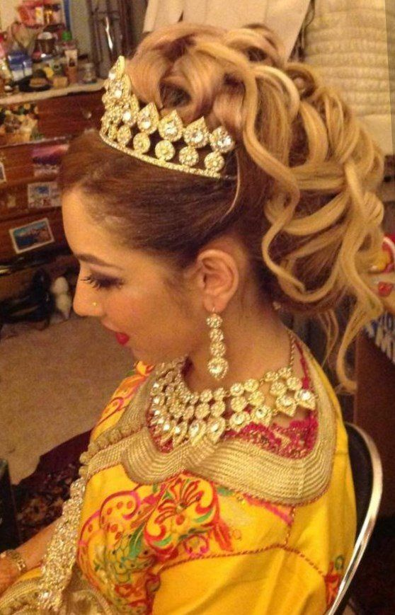 Coiffure Mariage Orientale Coiffure Cheveux Idee