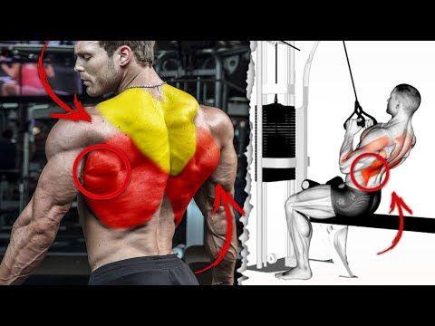 أفضل 10 تمارين تضخيم الظهر و توسيعه على شكل V Back Exercices Youtube Bodybuilding Exercise Fitness