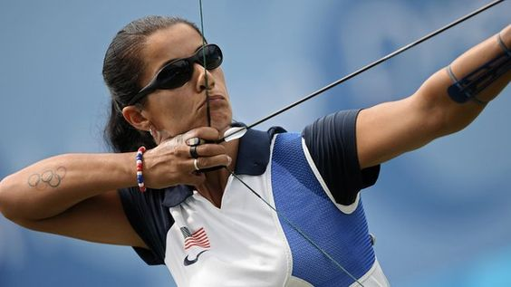 Khatuna Lorig Archery  As soon as she received US citizenship, Lorig placed a call to the US Olympic committee to discuss competing. She is the only athlete to have represented three teams in the Olympics, first representing the United Soviet Team in 1992, when she won the bronze medal. In 1996 and 2000 she competed for her home country of Georgia, and in 2008 she represented the US in Beijing.
