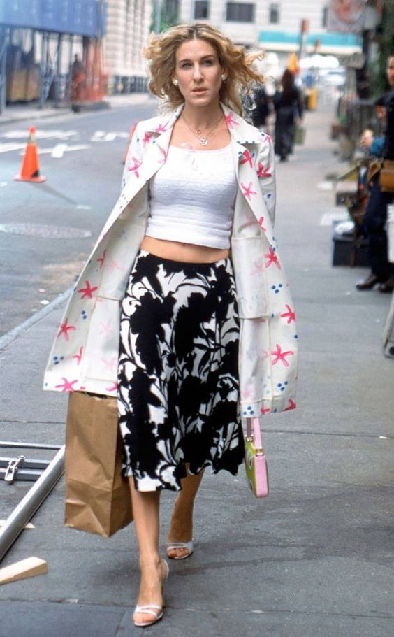 In the Nude from Carrie Bradshaw's Best Outfits | E! Online