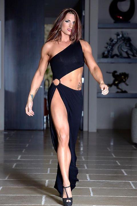 Strong Naked Slim Women 5