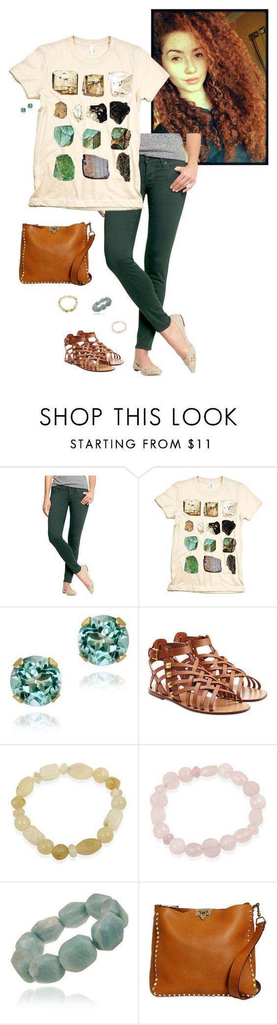 """Untitled #881"" by ninfodora ❤ liked on Polyvore featuring moda, Old Navy, Glitzy Rocks, Valentino, women's clothing, women's fashion, women, female, woman i misses"