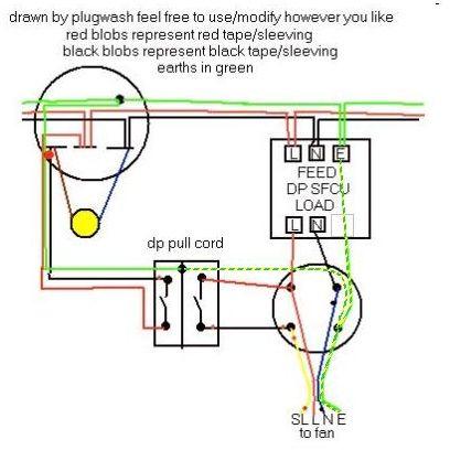 Bathroom Fan Isolator Switch Wiring Diagram – 3 Pole Switch Wiring Diagram