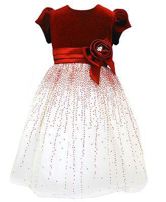 Jayne Copeland Kids Dress- Little Girl Velvet Holiday Dress - 2013 ...