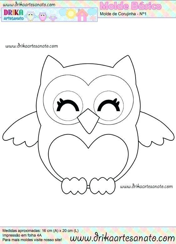 Free Felt Animal Templates Patterns Pdf Printable Owl Owl