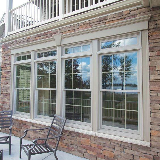 Tilt Turn Window Hinges Tilt Turn Windows Home Depot Best Tilt Turn Windows In 2020 Brick Exterior House Window Trim Exterior Windows Exterior