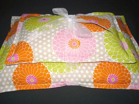 SALE- Mothers Day Gift Set Microwavable Corn Heating Pad Corn Bag Hot Cold Therapy Hot Pack-