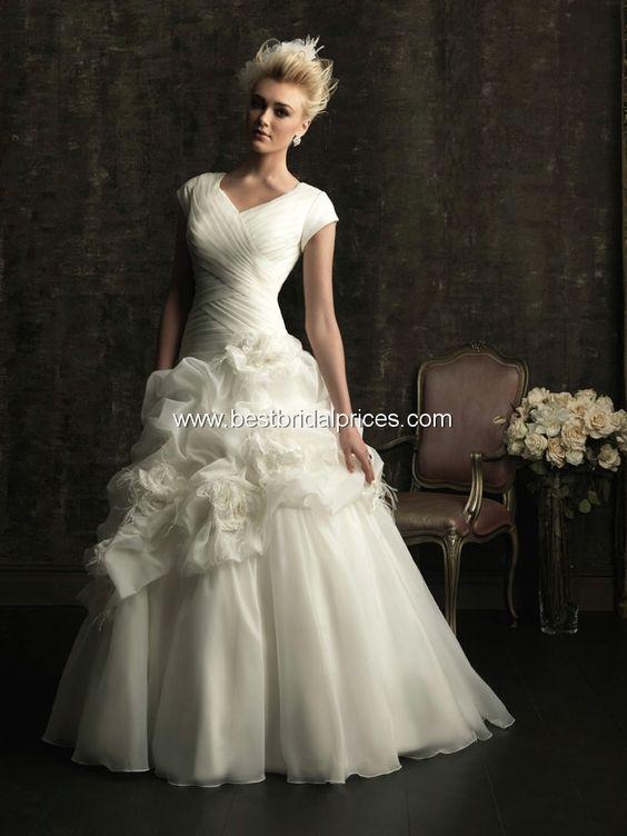 Allure Modest Wedding Dresses - Style M481