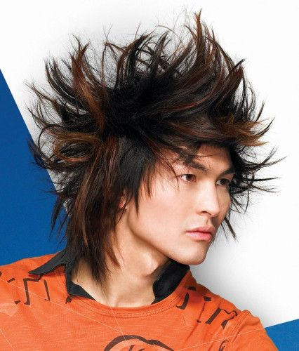Remarkable Crazy Hairstyles Emo And Hairstyles On Pinterest Hairstyles For Men Maxibearus