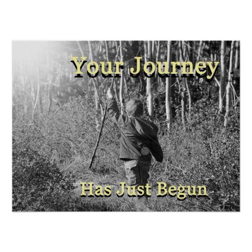 Your journey has just begun