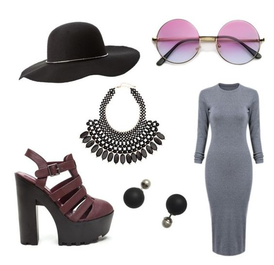 """""""Dazed"""" by kaycie-marie-surrell on Polyvore featuring H&M and Charlotte Russe"""