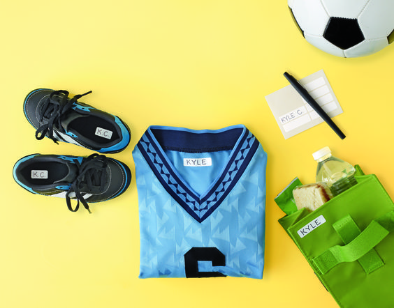 Avoid trips to the lost-and-found with easy-to-use clothing labels that stick to many materials. Click for a 50% off coupon!: Kids Stuff, Awesome Products, Helpful Hints, Extra Help, Products Ideas, Diy Kids Family, Diy Clothes, Avoid Trips, Clothing Labels
