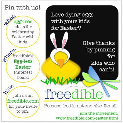 Join us in celebrating all that custom eaters CAN have for Easter!
