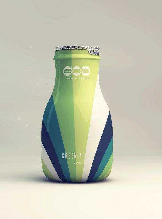 簡單繽紛優酪乳罐包裝 | MyDesy 淘靈感