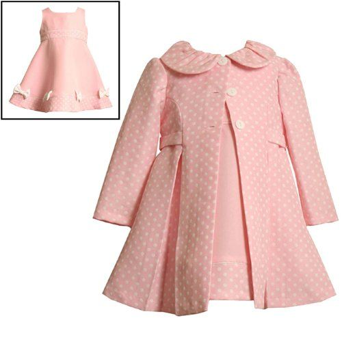 $44.10-$63.00 Baby Size-24M BNJ-0825-R 2-Piece PINK WHITE JACQUARD