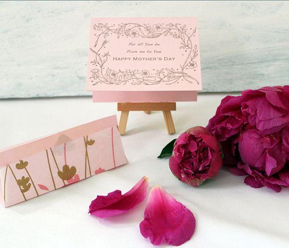 handmade letterpress greeting card in the JenKimMade Etsy shop