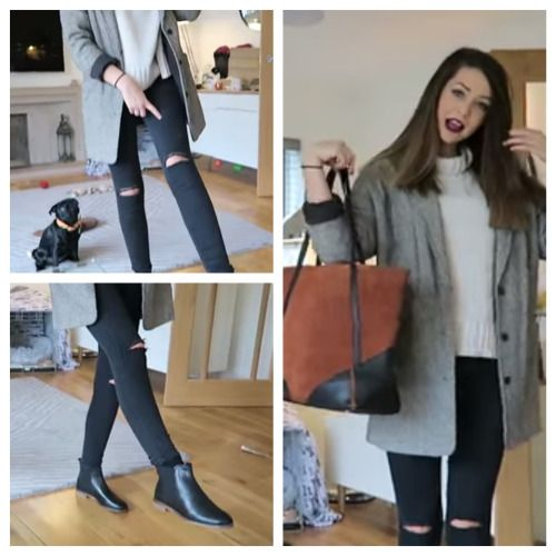 Zoella Black Jeans And My Style On Pinterest