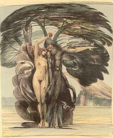 """""""Baum der Erkenntnis"""" von Ernst Fuchs"""