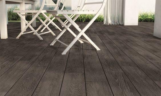 Carrelage terrasse imitation parquet hortus gris fonc maison terrasse pinterest for Carrelage imitation parquet gris