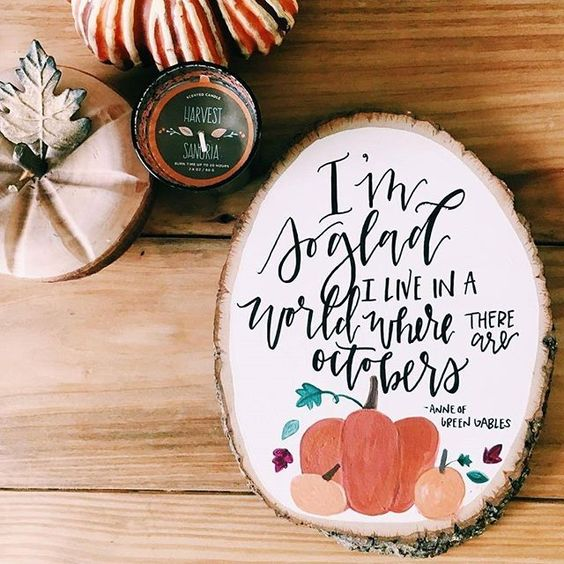 Love this quote...Happy October, everyone!
