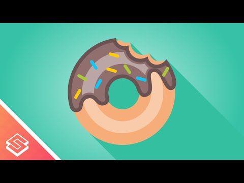 Inkscape Tutorial: Vector Donut - YouTube