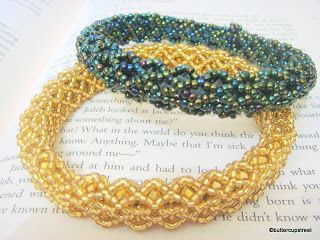 The Breakfast Theory: Bead Bangle