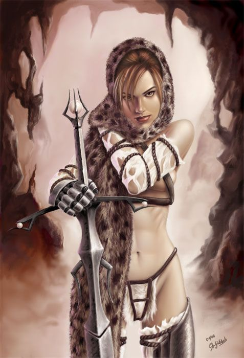 Warrior princess #exalted