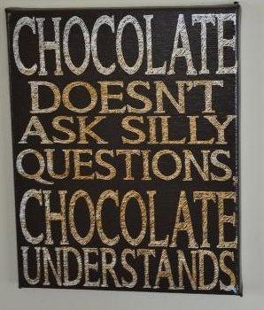 Chocolate indeed understands ;)