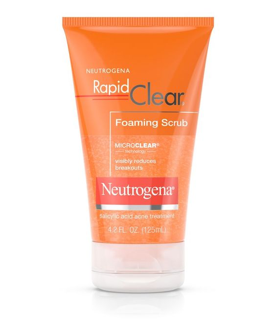 Neutrogena Rapid Clear® Foaming Scrub | Neutrogena®