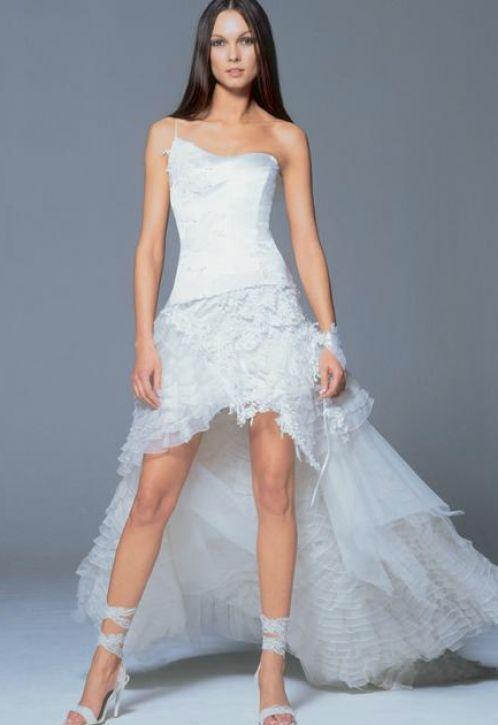 Short Mermaid style wedding dress  Someone get Married ...