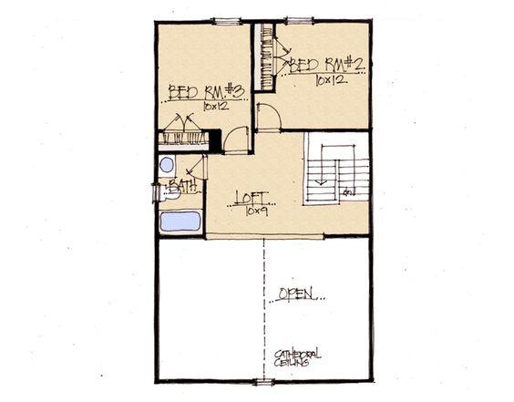 Hummingbird Home Plan   Earnhardt Collection™ by Schumacher Homes    House  middot  Hummingbird Home Plan