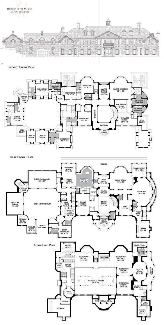 Pin By Katrine Boll On Home In 2020 House Plans Mansion Mansion Floor Plan Luxury House Plans