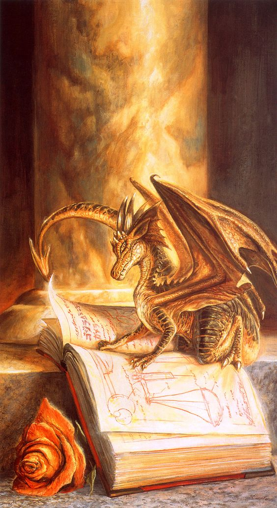 Bob Eggleton | Fantasy art -- Sometimes I really wish miniature dragons existed.: