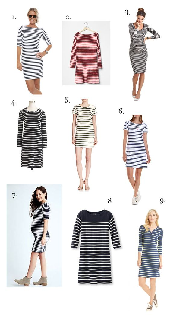 Fashion Friday: The Striped Dress