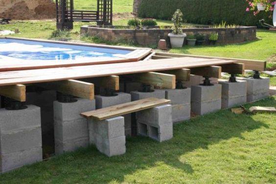 kit piscine bois semi enterree 28 images inspiration piscine en kit semi enterr 233 e beton. Black Bedroom Furniture Sets. Home Design Ideas