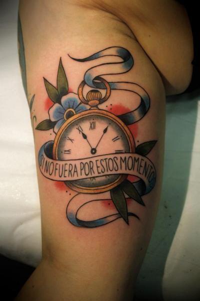 tatuajes de reloj en el brazo , Buscar con Google