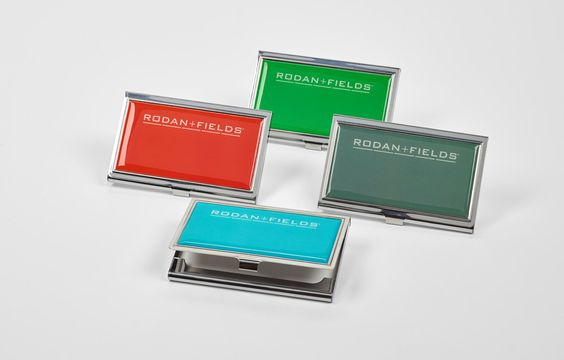Enamel Filled Business Card Holder is eye catching & uber professional!!  #RFConvention