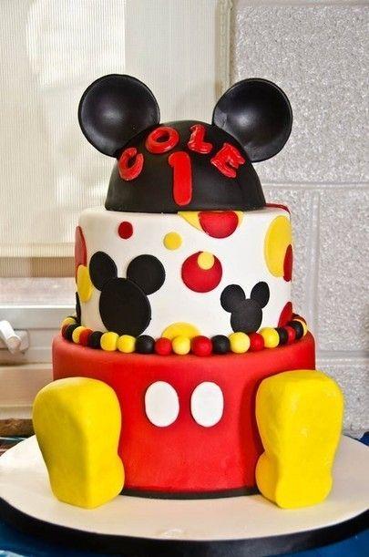 Mickey Birthday Cake Awesome!!
