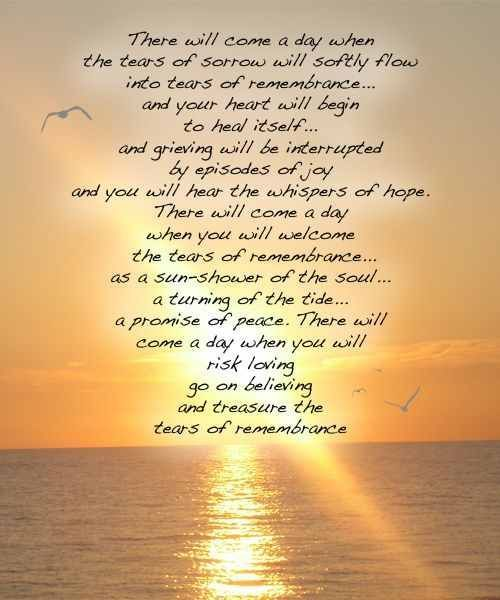 inspirational quotes for grieving parents google search