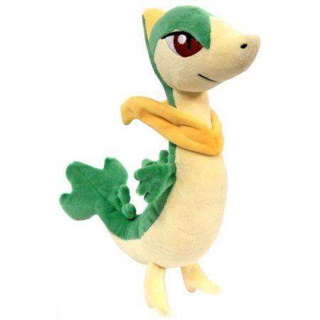 Pokemon Servine Plush, Multicolor