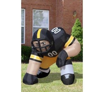 """Pittsburgh Steelers """"Bubba"""" 5' Team Inflatable - OnlineSports.com"""