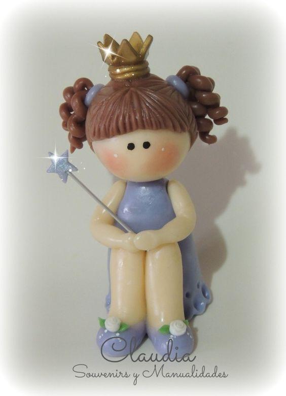 Princesita adorno para torta .- www.facebook.com/pages/Claudia-Souvenirs-y-Manualidades-/283298225105386?ref=hl
