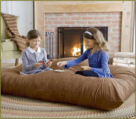 Giant Floor Pillowgiant Floor Pillow | Home Design Ideas: Ideas, Floors, Floor  Pillows