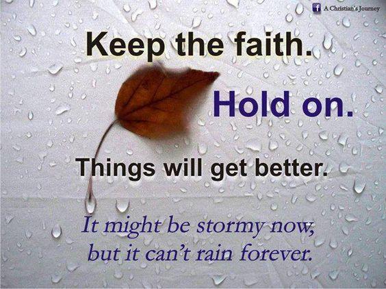 So true...keep the Faith!